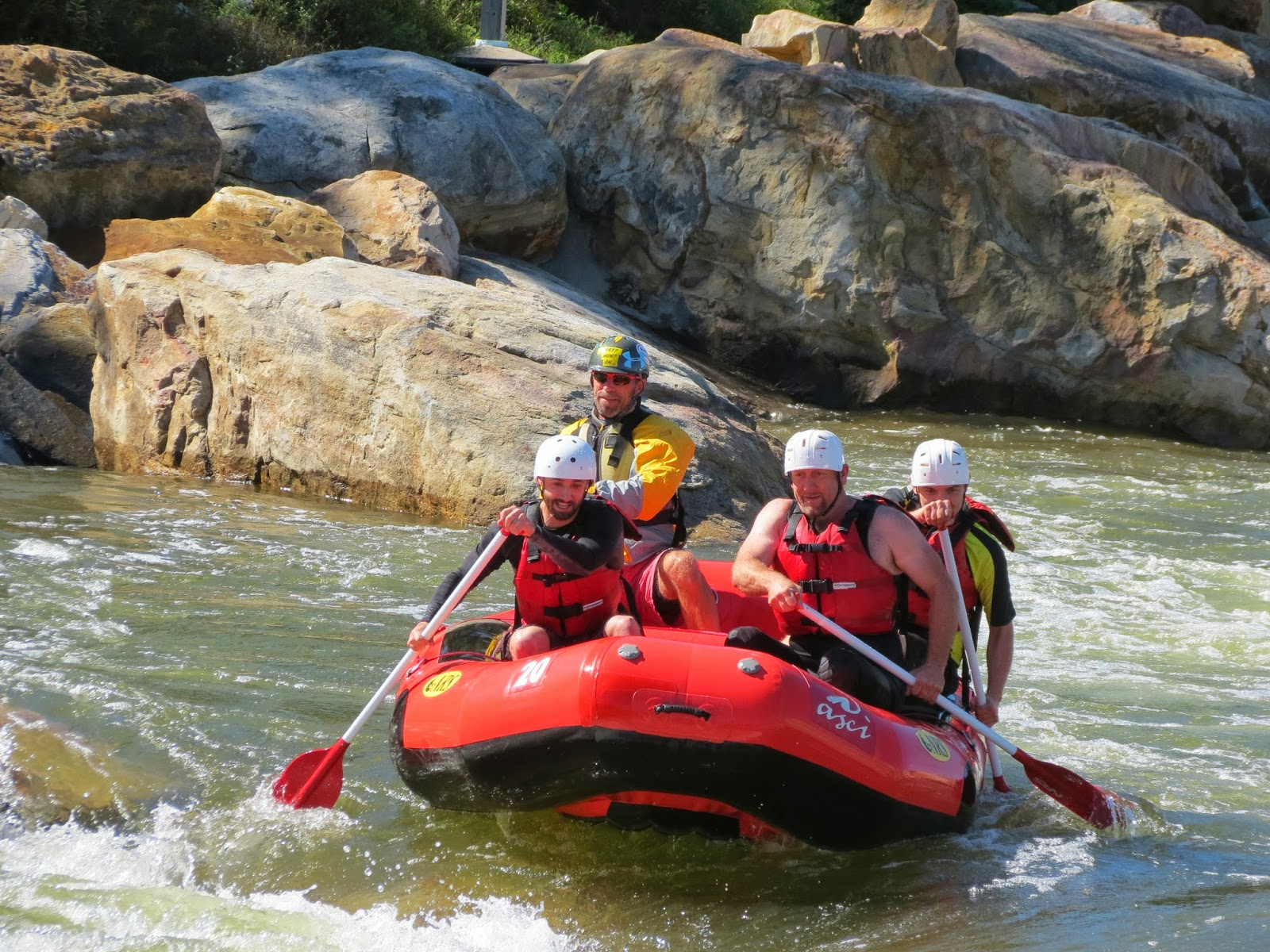 A whitewater rafting excursion! – Taylor-Made Deep Creek