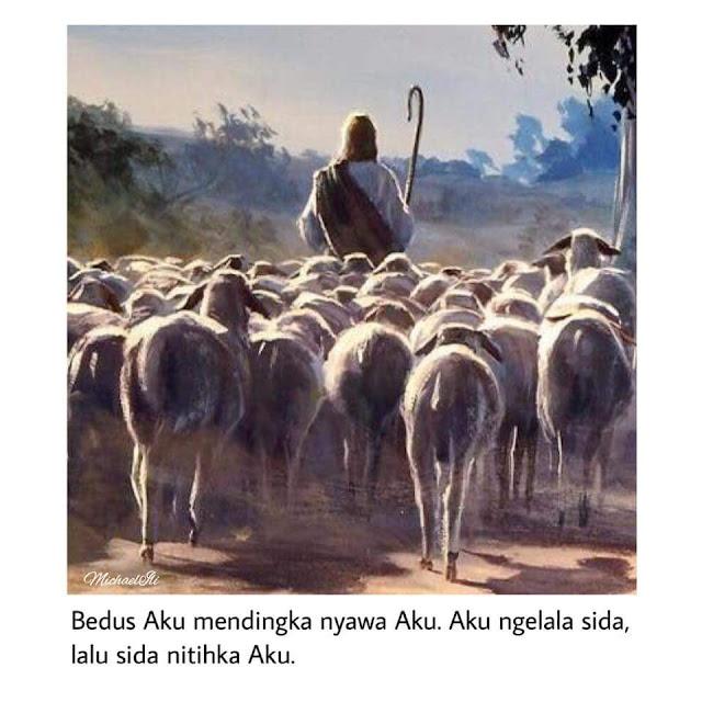 Injil Seharitu: Hari Dua, 24 April 2018, dalam Minggu Keempat Musim Paska