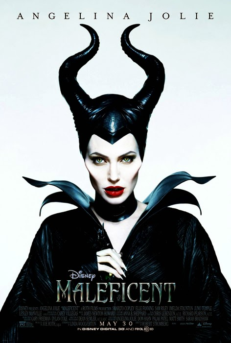 Poster Maleficent cu Angelina Jolie