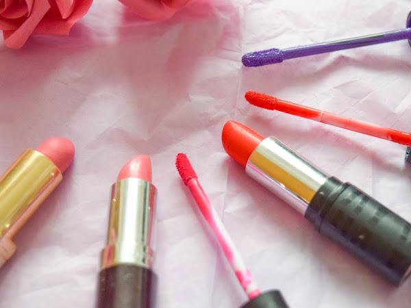 Beauty | My Favourite Lipsticks