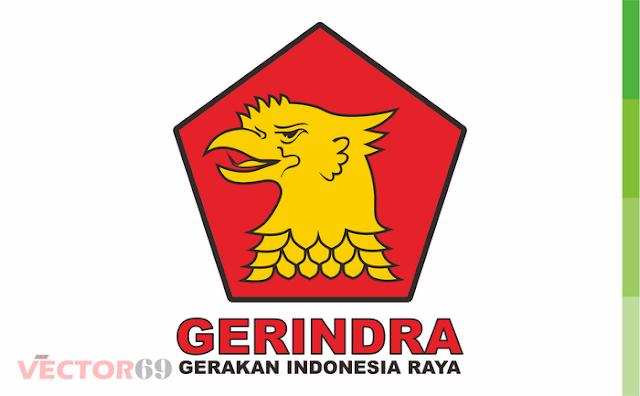 Logo Partai Gerindra (Gerakan Indonesia Raya) - Download Vector File CDR (CorelDraw)