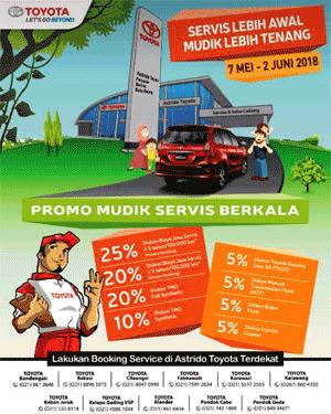 Promo Toyota Dealer Depok Paket Service 2018