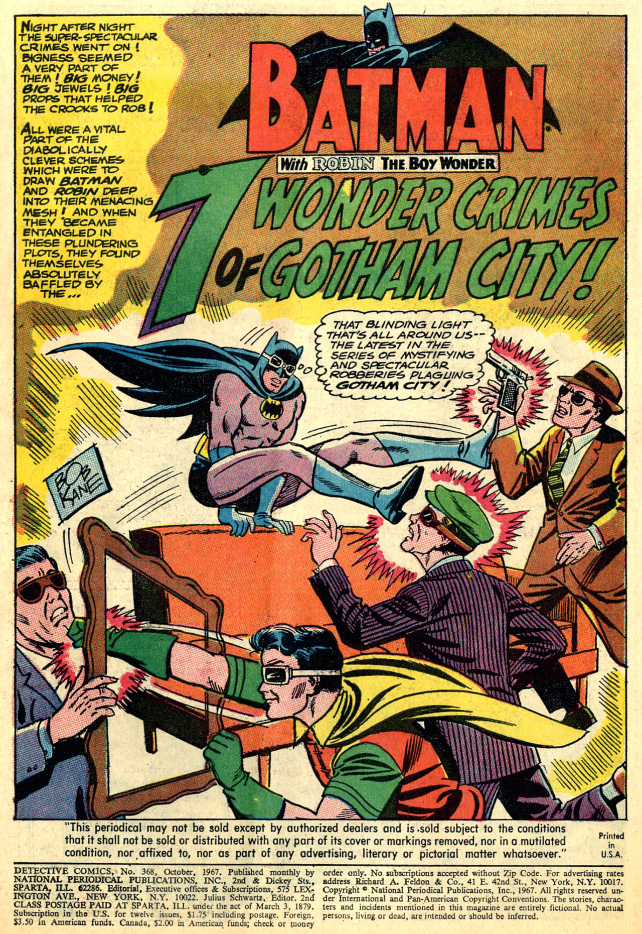 Detective Comics (1937) 368 Page 2