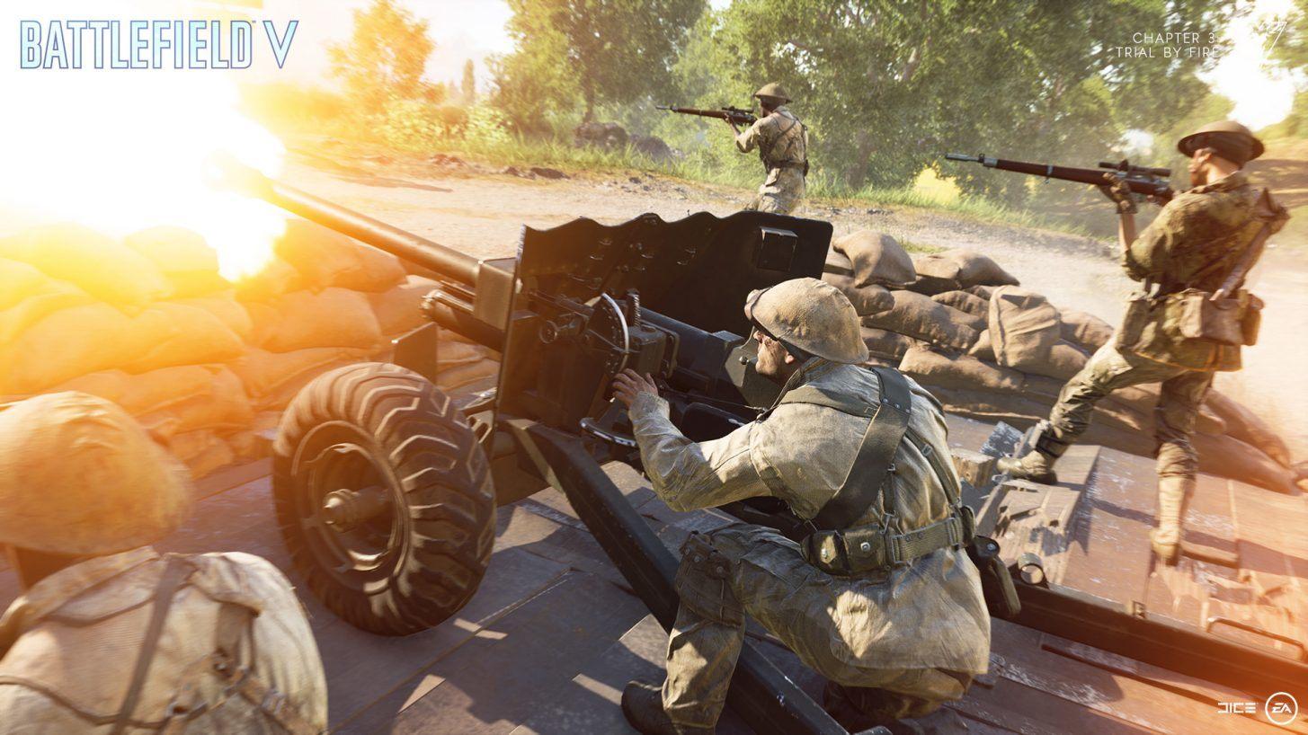 Battlefield V: Perguntas e Respostas do Capítulo 3: Batismo de Fogo - Parte 1