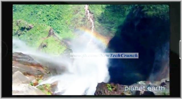 iPhone 5 wide full screen video