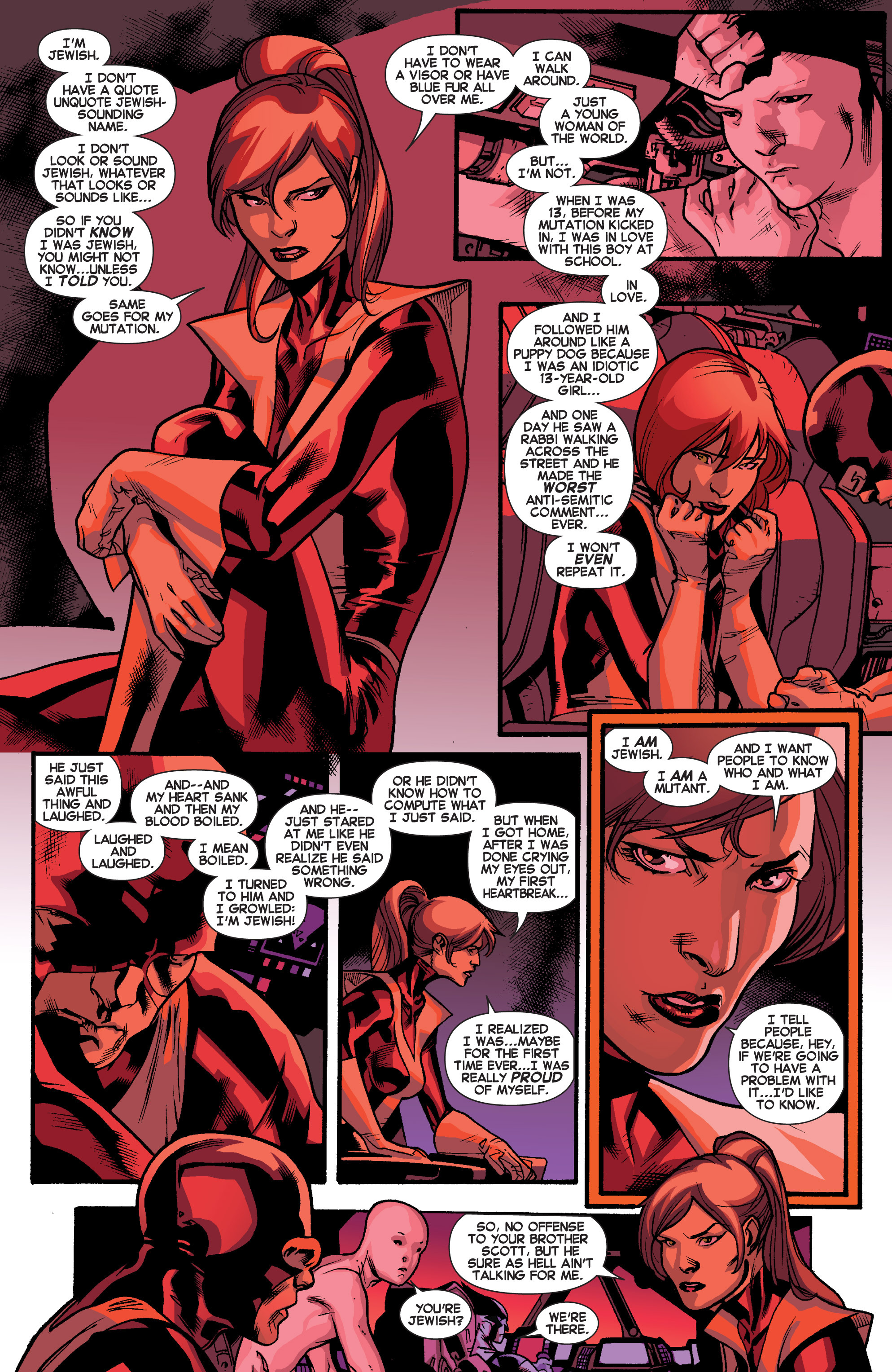 Read online All-New X-Men (2013) comic -  Issue # _Special - Out Of Their Depth - 61