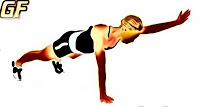 Variasi latihan plank one arm