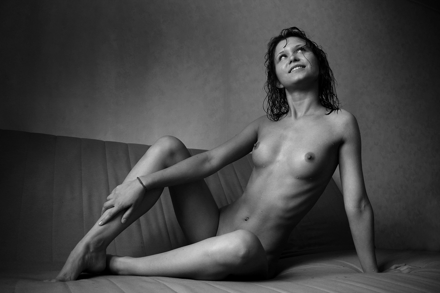 Beauty Of The Nude Drawing By Anikartick Azhagarsamy