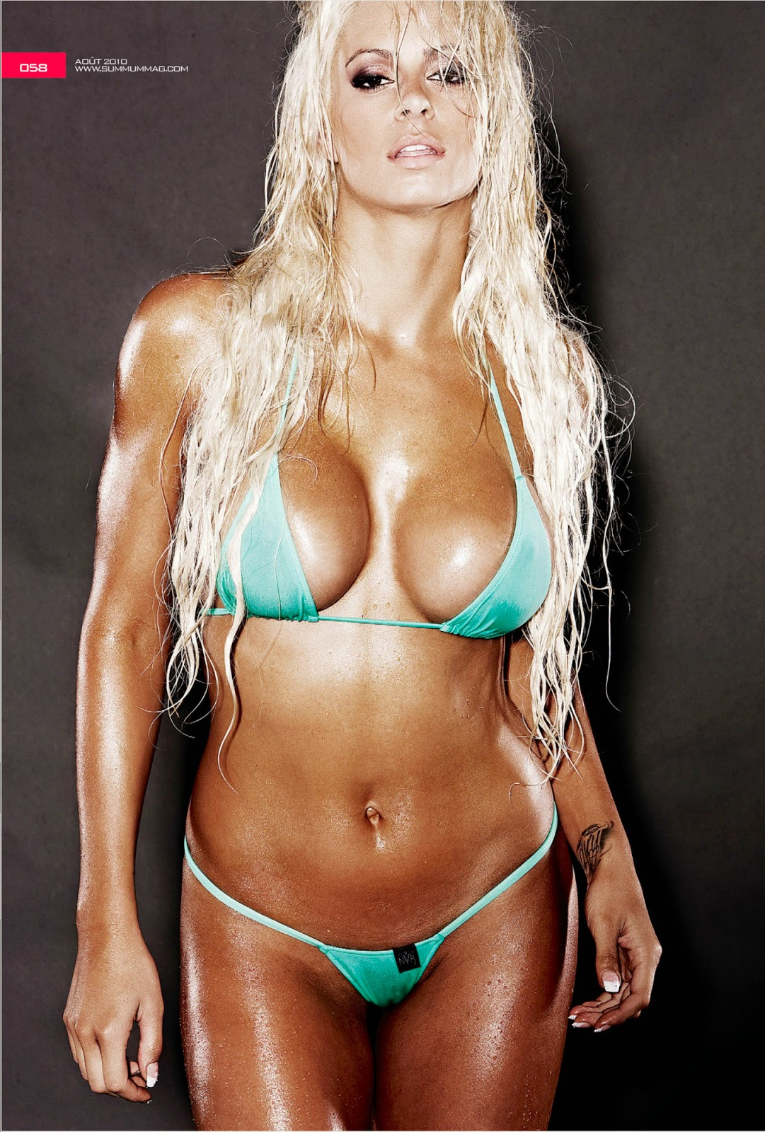 image Wwe summer rae and emma in bikinis