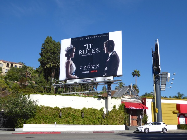 Crown For your consideration billboard
