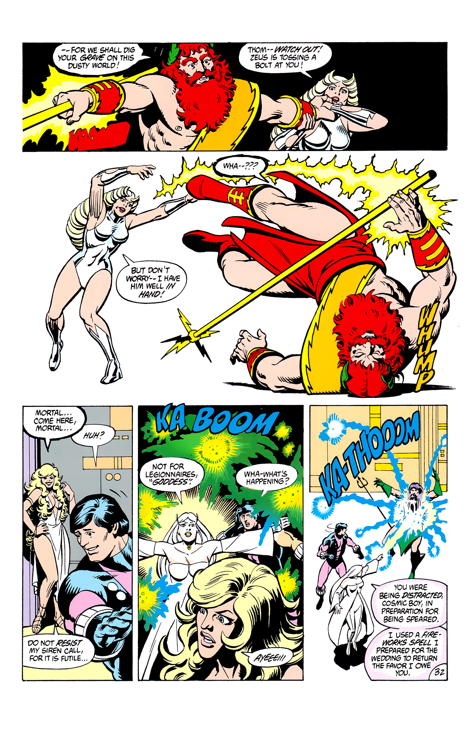 Legion of Super-Heroes (1980) _Annual_2 Page 32