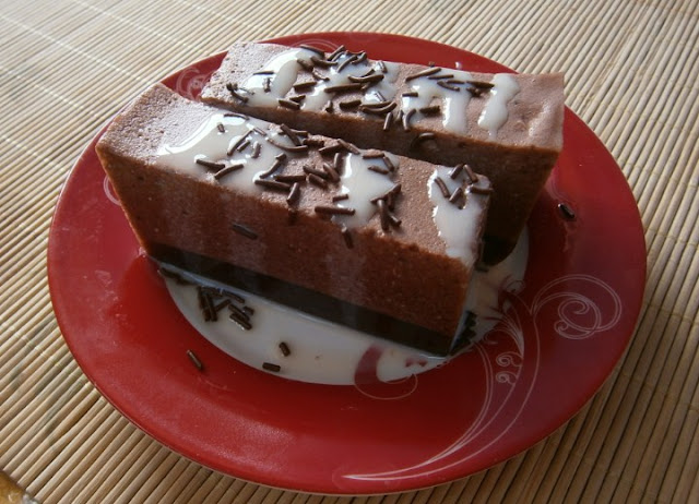 Resep Puding Busa Coklat, Cara Membuat Puding Busa Coklat