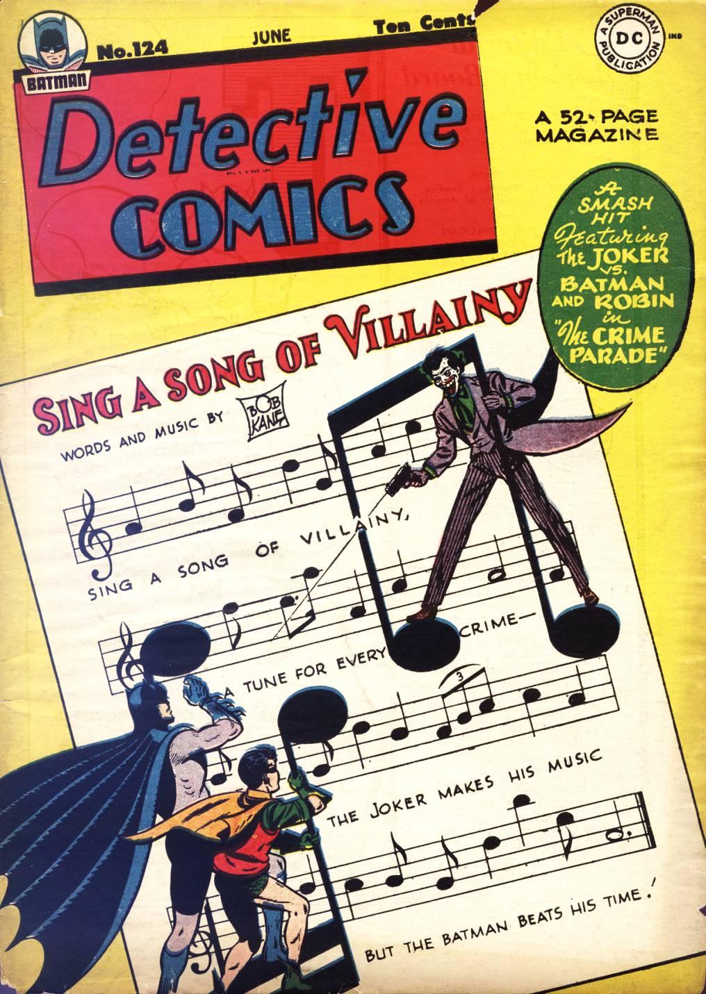 Detective Comics (1937) 124 Page 0