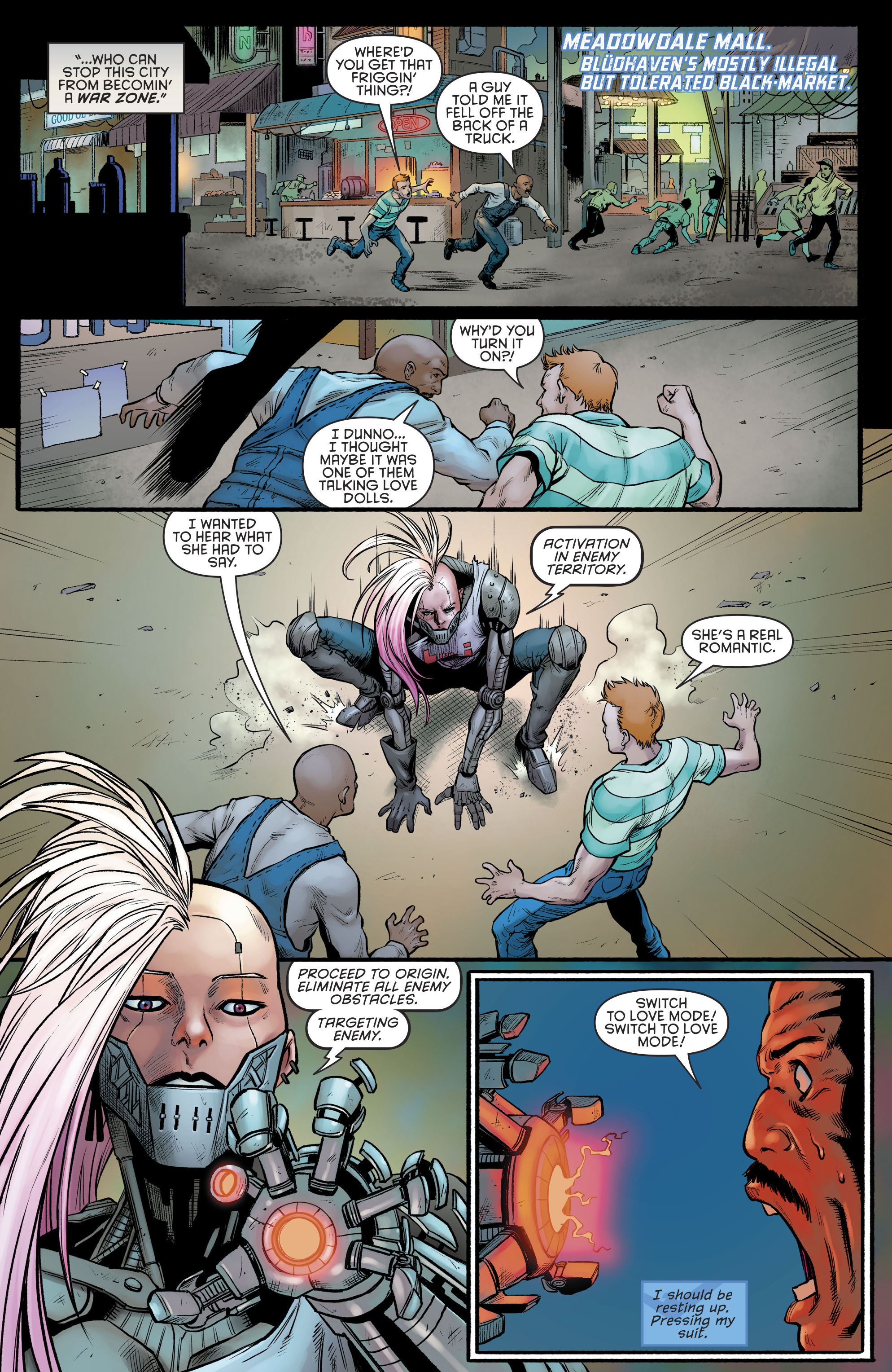 Read online Nightwing (2016) comic -  Issue #23 - 9