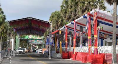 El Malecón de Santo Domingo listo para el Desfile Nacional del Carnaval 2019