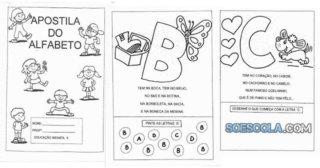Apostila do Alfabeto - Um texto para cada Letra