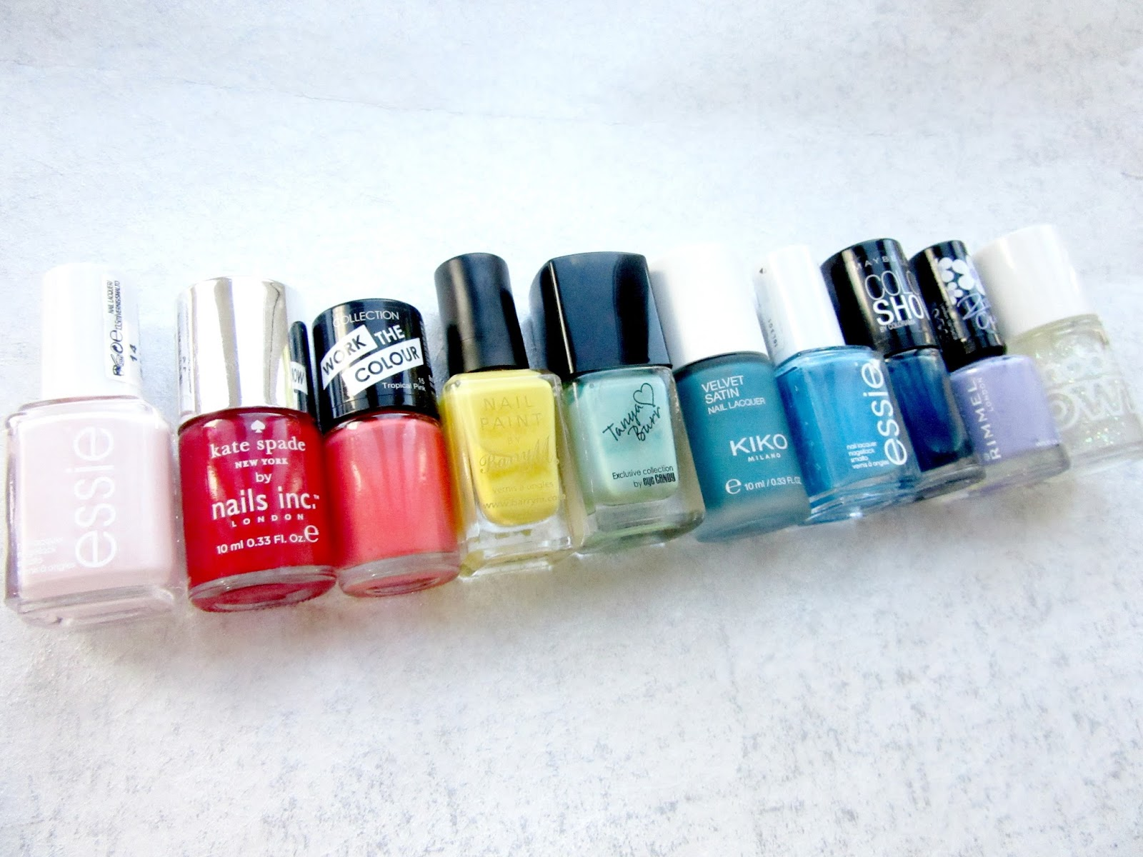 High Street Beauty Junkie: A Colour Spectrum of Nail Polishes: My Top 10