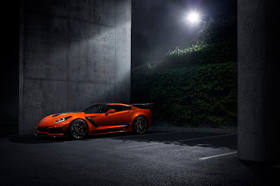2019 Chevrolet Corvette ZR1 announced