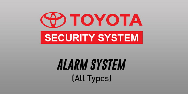 Toyota Security Alarm System Toyota New Rush