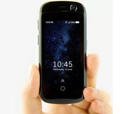 Unihertz Jelly Pro 4G LTE Ponsel Android terkecil
