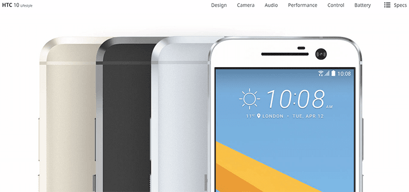 There Is An HTC 10 Lifestyle Too