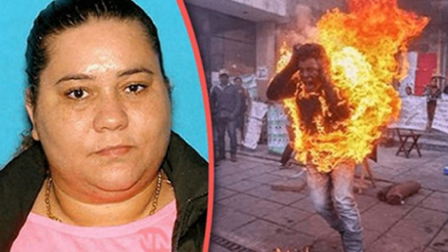 Mujer le prende fuego a su esposo luego de encontrarlo abusando de su hija de 7 años.