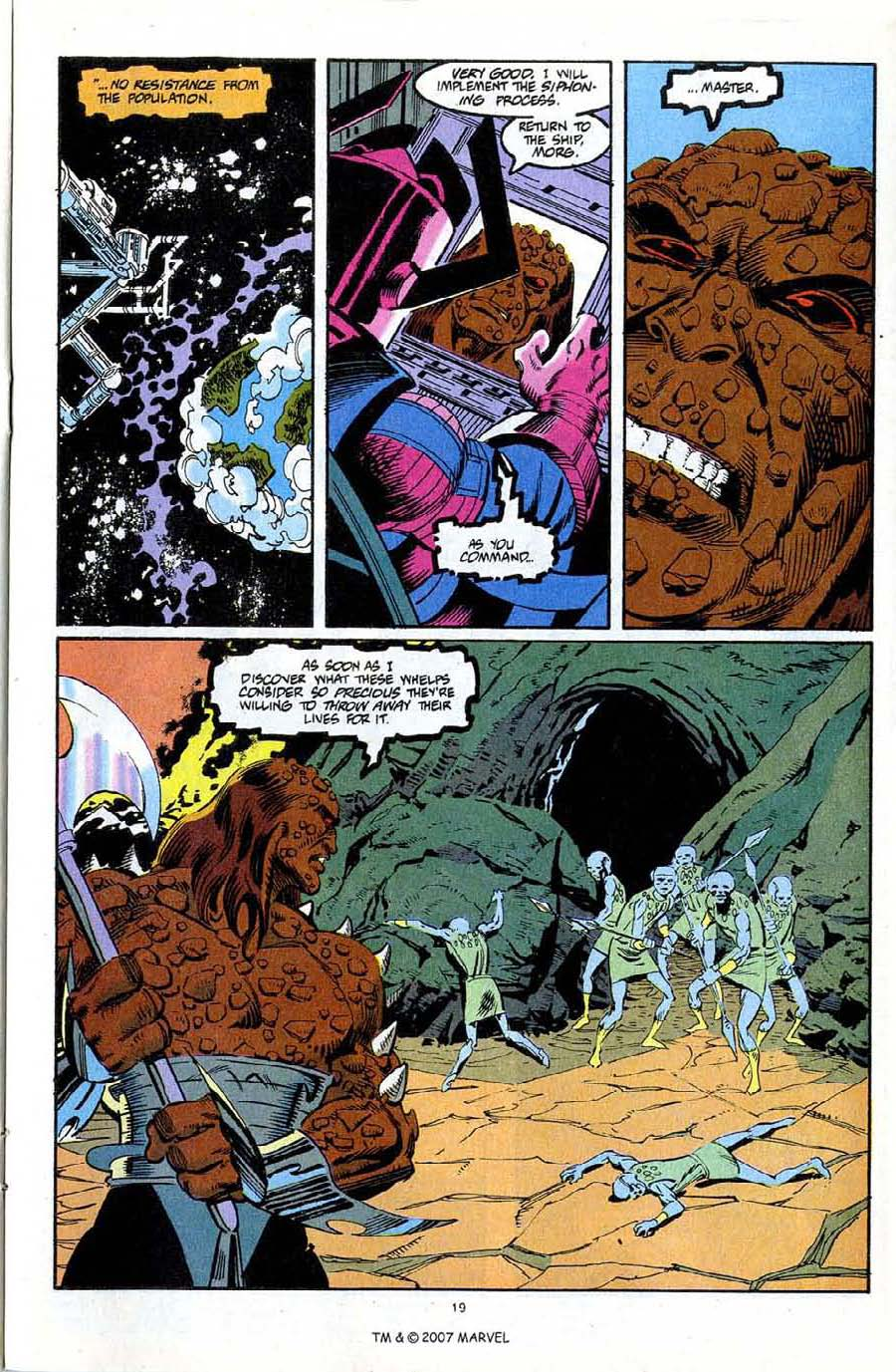 Read online Silver Surfer (1987) comic -  Issue #72 - 21