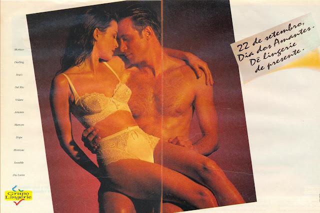 Campanha do Grupo Lingerie para comemorar o Dia dos Amantes
