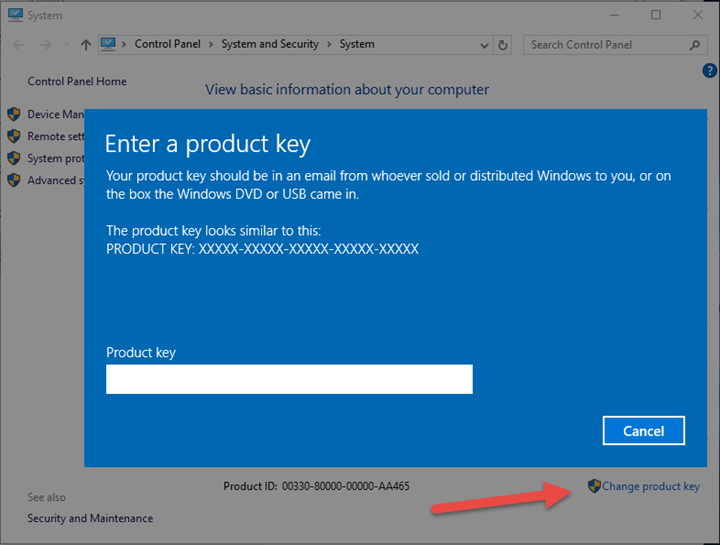 how many times can you use a windows 10 product key