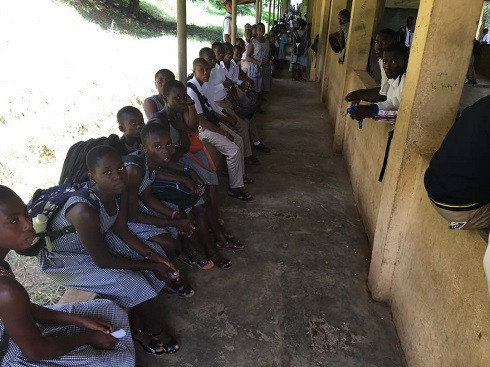 Inadequate Desks For Double Track System In Suhum SUTESCO