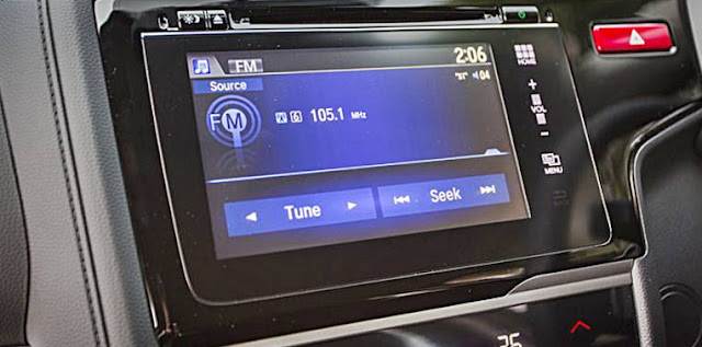 2017 Honda Jazz gets updated infotainment interface