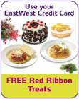 Eastwest bank FREE Red Ribbon Treats