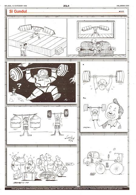 Si Gundul EDISI NO. 944 / SELASA, 12 OKTOBER 1999