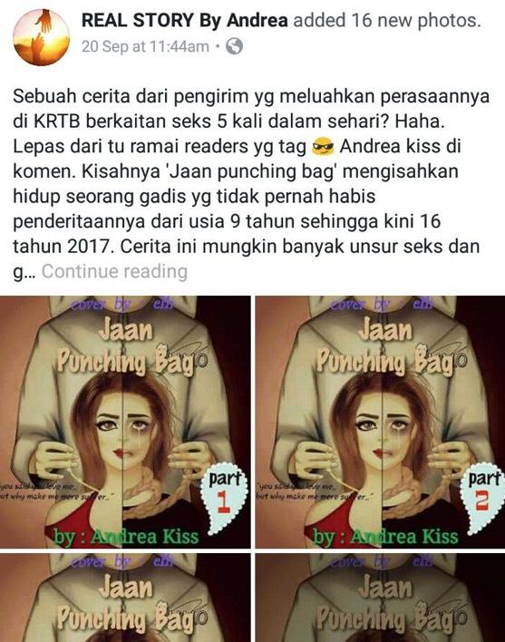 """""""Kisah 'Jaan Punching Bag' Dan 'Beautiful Me' Adalah Karya Palsu Yang Di Klaim Kisah Benar"""""""