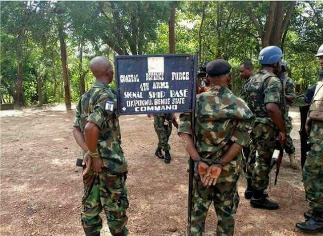FAKE MILITARY BASE DISCOVERED IN BENUE