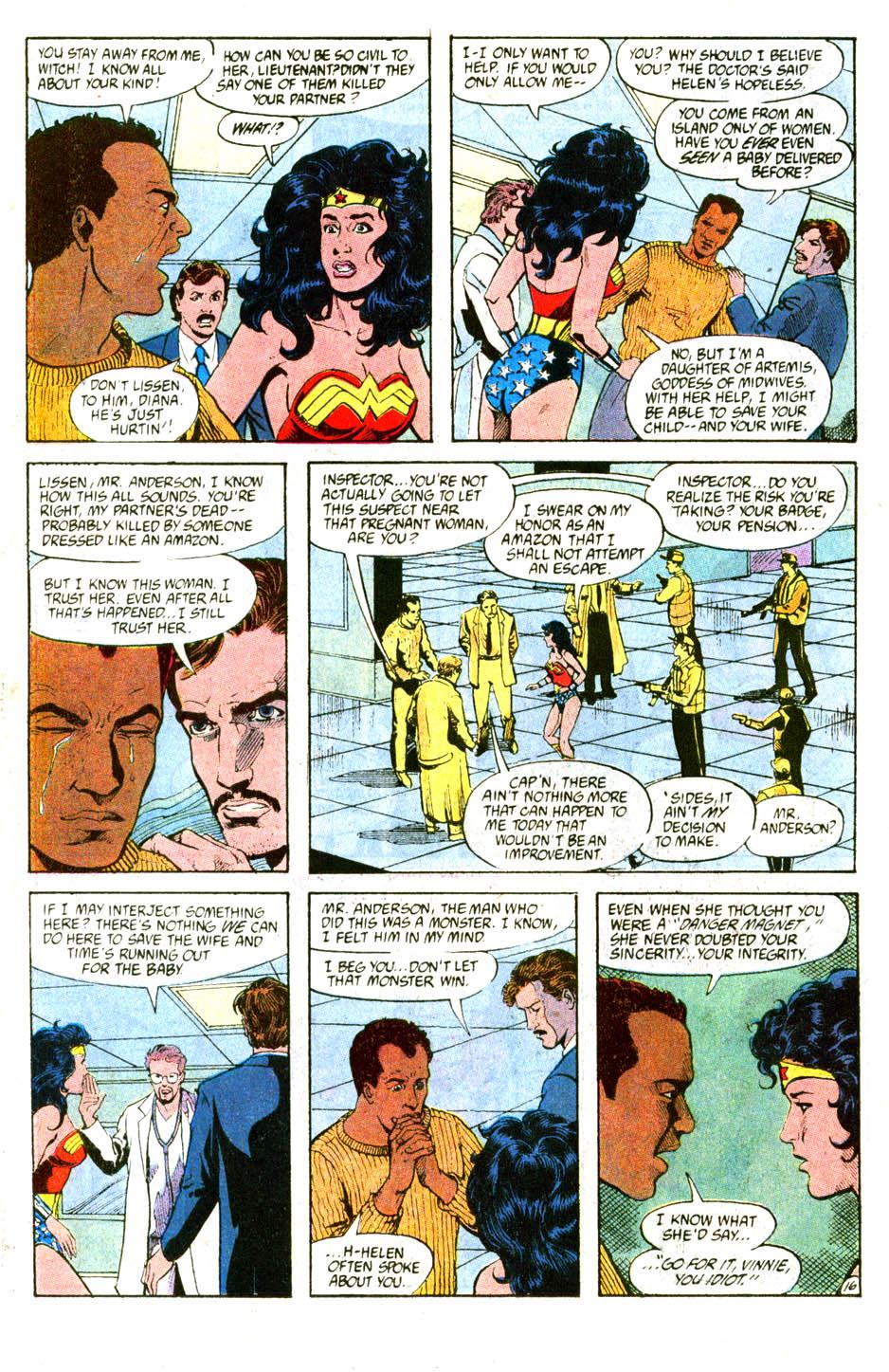 Read online Wonder Woman (1987) comic -  Issue #56 - 18