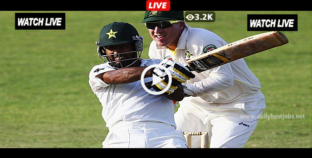 PAK Vs AUS Live Streaming 2nd Test Series Online Cricket Scores