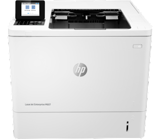 n printer came rapidly in addition to inwards sufficient packaging HP LaserJet M607n Driver Download