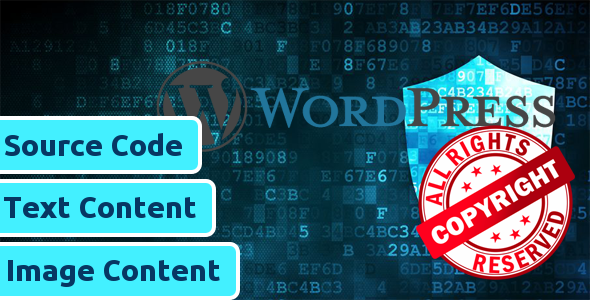 CopyProof WordPress Website
