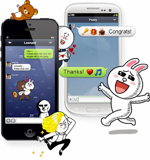 Aplikasi Chat Android LINE