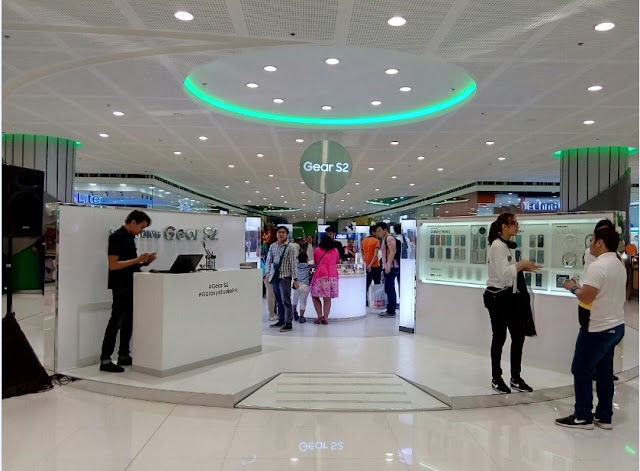 The newly opened Samsung Galaxy Studio at SM Mall of Asia