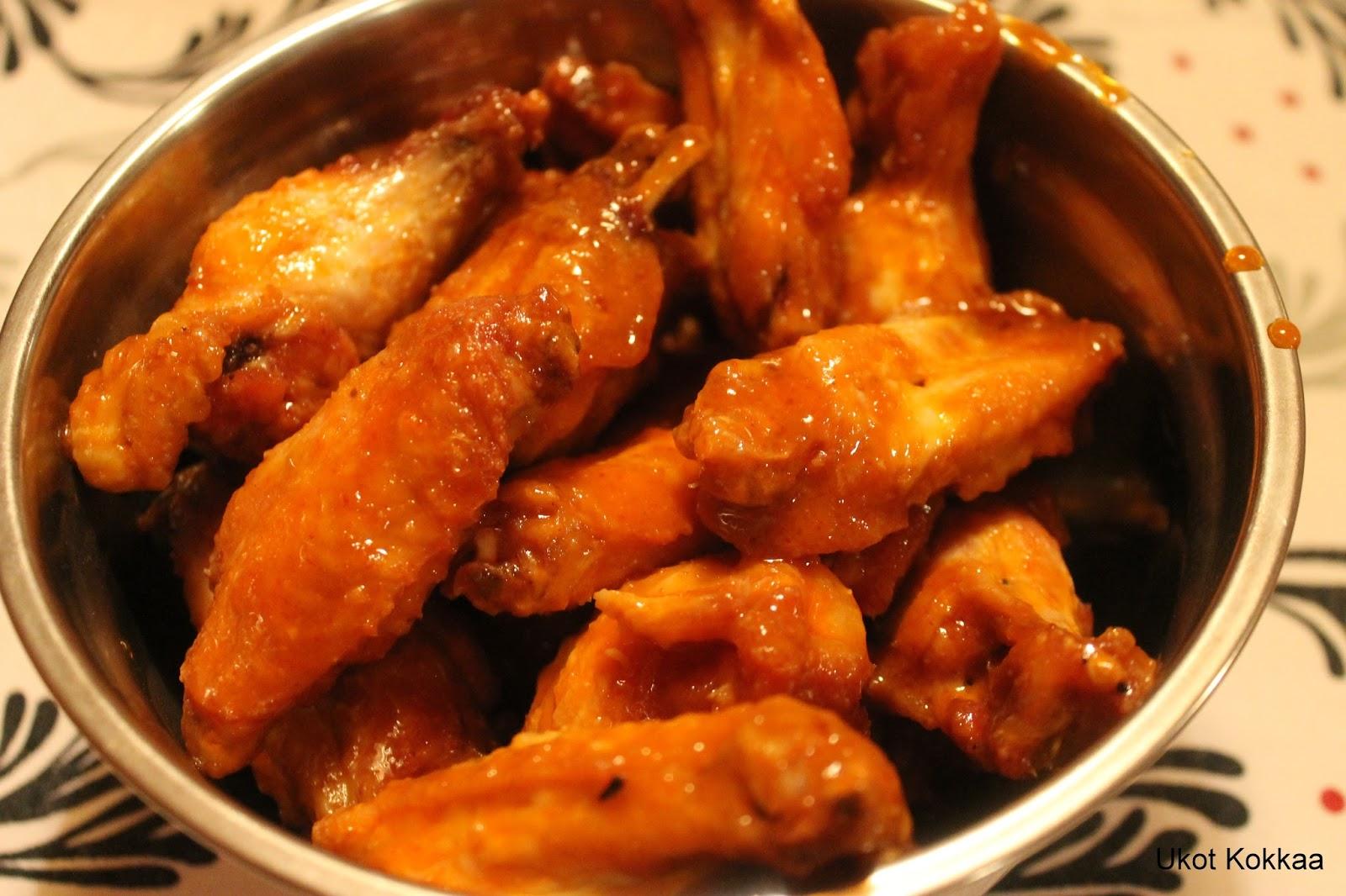 Wingsit Rasvakeittimessä