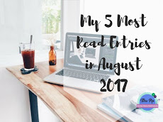 My 5 Most Read Entries in August + Blog's New Domain Name