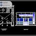 مخطط مشروع مسكن 3 طوابق اوتوكاد dwg