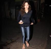 Janhvi Kapoor Latest Photos at Gym HeyAndhra