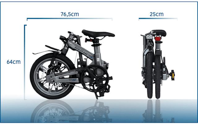 THE ONE U-Series | Sepeda Lipat Elektrik Paling Ringan Di Dunia
