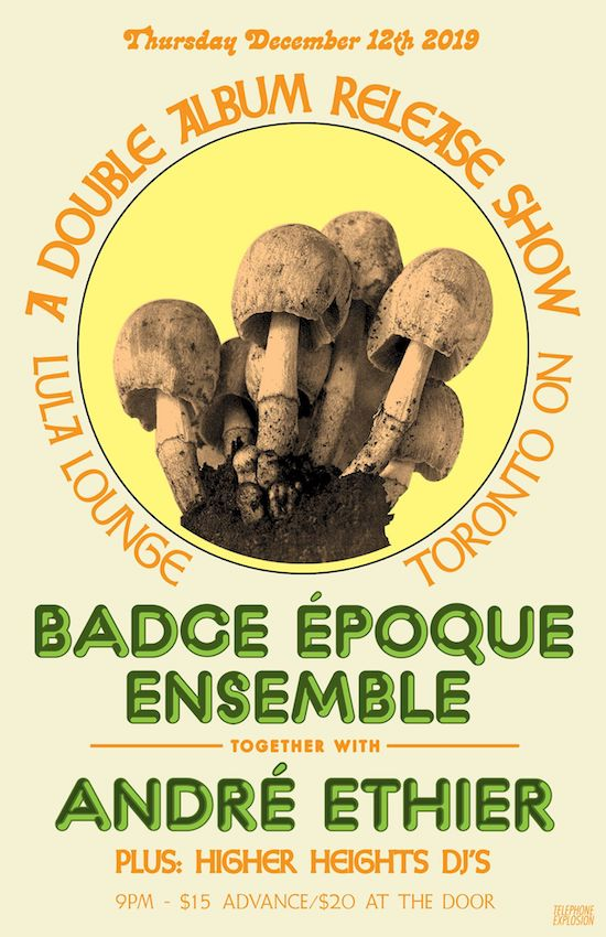 Badge Époque Ensemble @ Lula Lounge, Thursday