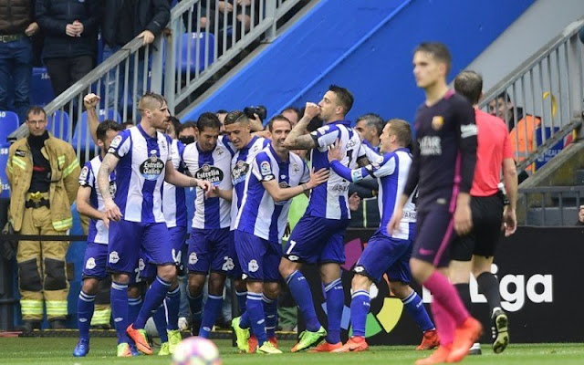 Deportivo La Coruna 2-1 Barcelona
