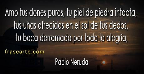 Pablo Neruda- poemas de amor