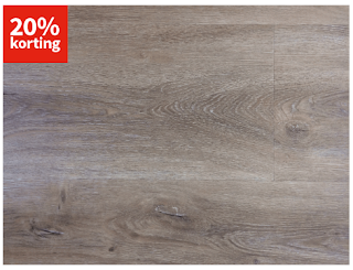 Savona Click Natural Oak PVC-vloer Carpetright